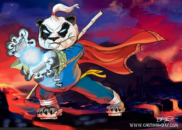 Wow Pandaren Monk Cartoon