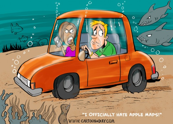 apple-maps-drowning-cartoon