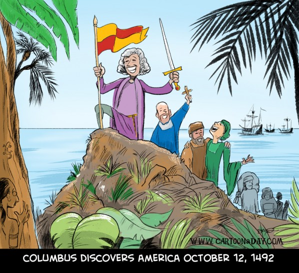 Columbus Day 2012 Discovery of America