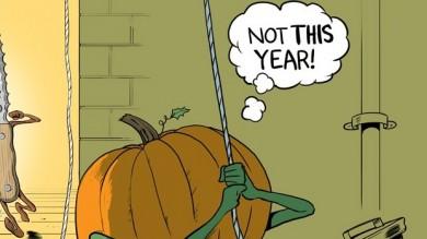 Halloween jack o lantern pumpkin assassin cartoon thecheapjerseys Choice Image
