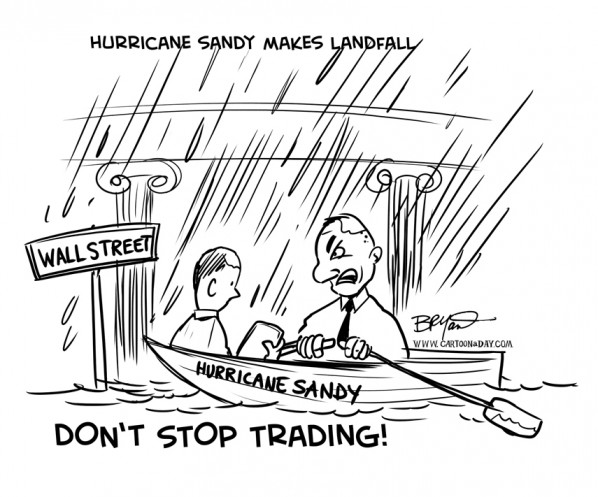 Hurricane Sandy Makes landfall Millions at Risk