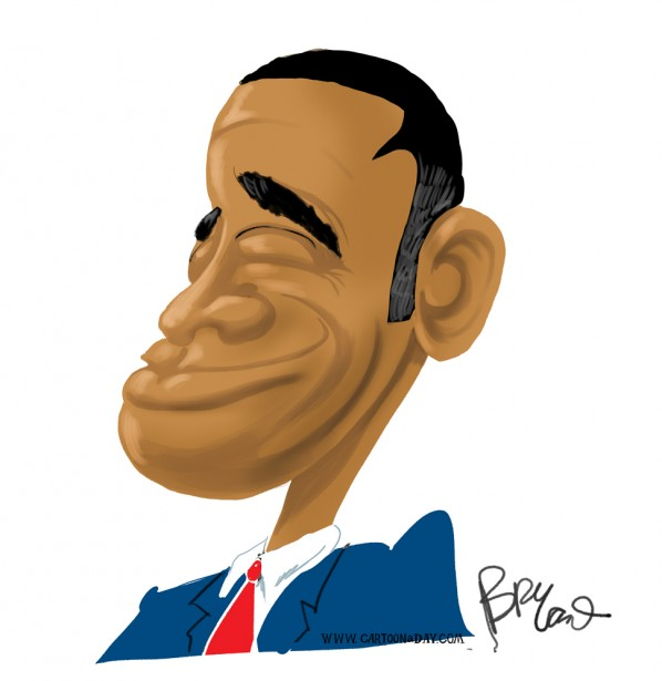 obama-caricature-color