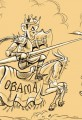 Obama vs Romney Debate Jousting