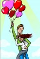 Heart Shaped Balloon Love Story