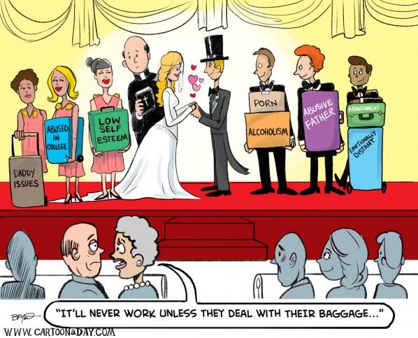Marriage-baggage-cartoon