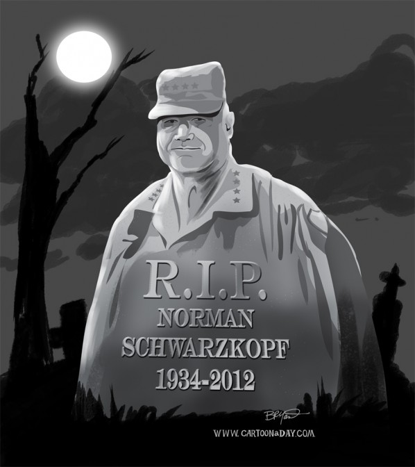 Norman-Schwarzkopf-dead-age-78-grave