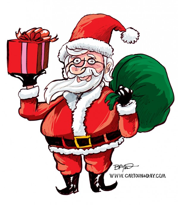 Santa-clause-cartoon