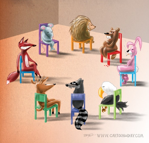 animals-peer-group-cartoon