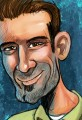 Bryant Arnold Cartoonist Self Portrait