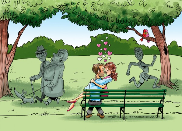 love-park-bench-cartoon