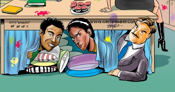 Cartoon Cast of TVs Community