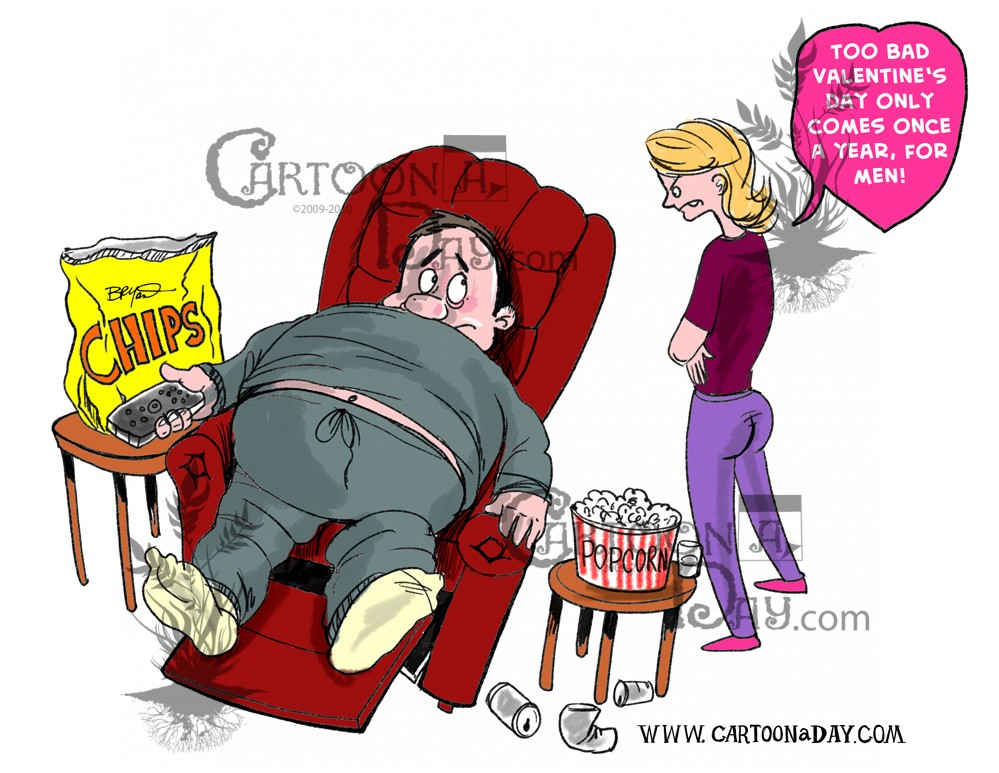 Valentine S Day Is Over Cartoon