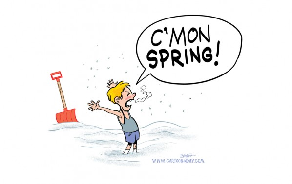 Late Spring Cartoon Cartoon