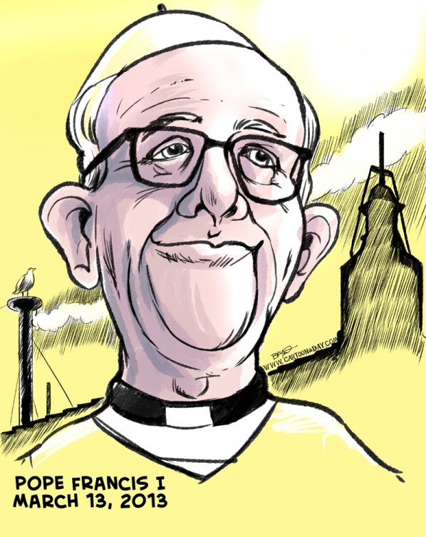 Pope Francis The First-New Pope is from Argentina