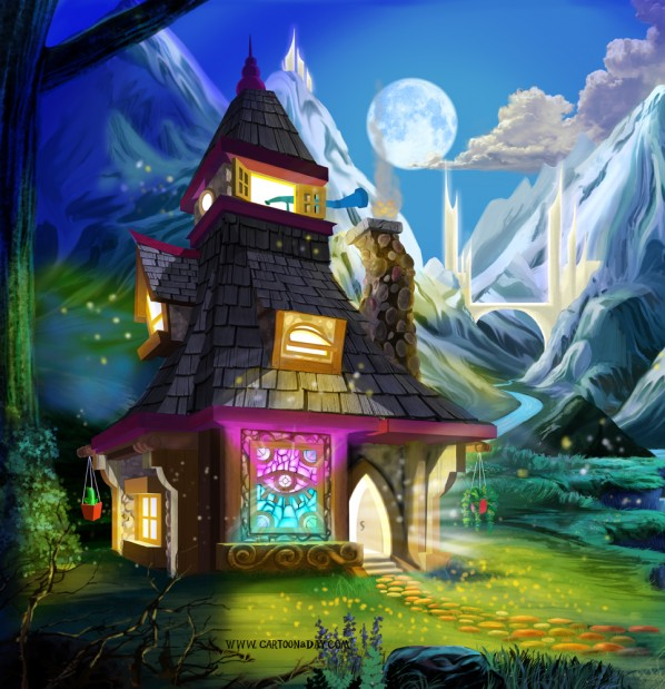 Fantasy-merlins-cabin-left