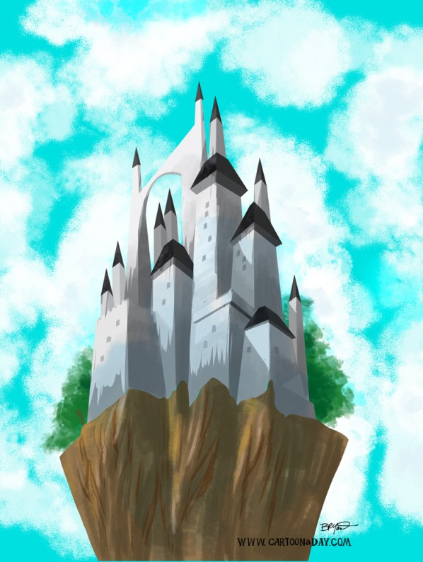 fairytale-castle-painting
