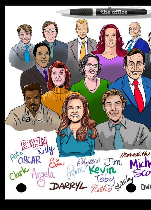 Office-cast-caricature-2
