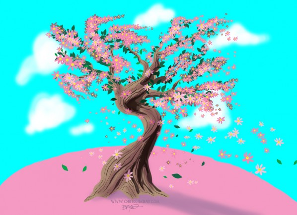 cartoon-bonsai-cherry-blossom-tree