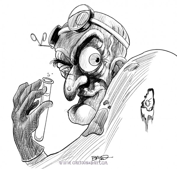 mad-scientist-sketch-lineart