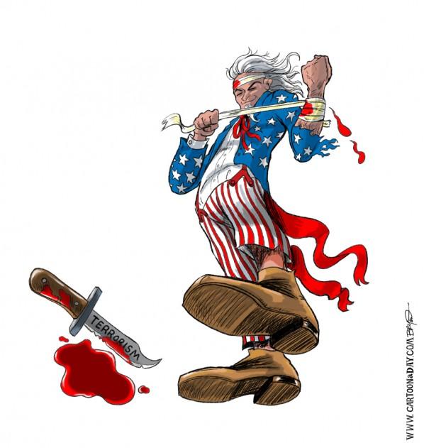 Uncle Sam Drawing Tutorial Terrorism attacks uncle samUncle Sam Drawing Tutorial