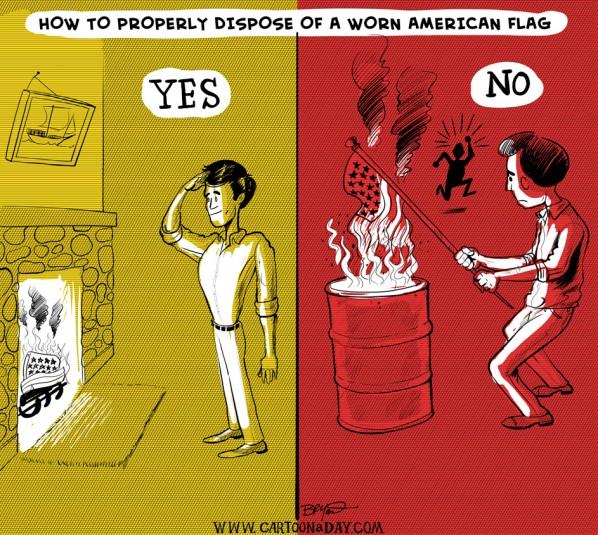 american-flag-dispoal