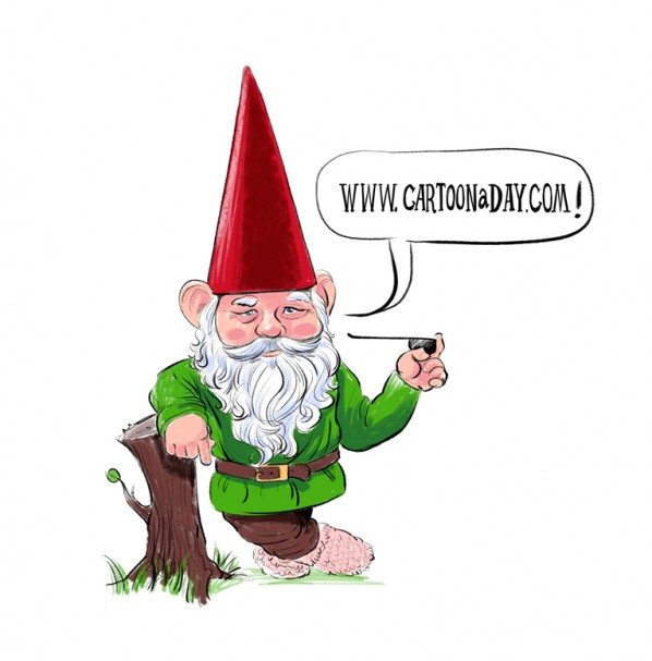 cartoon-garden-gnome