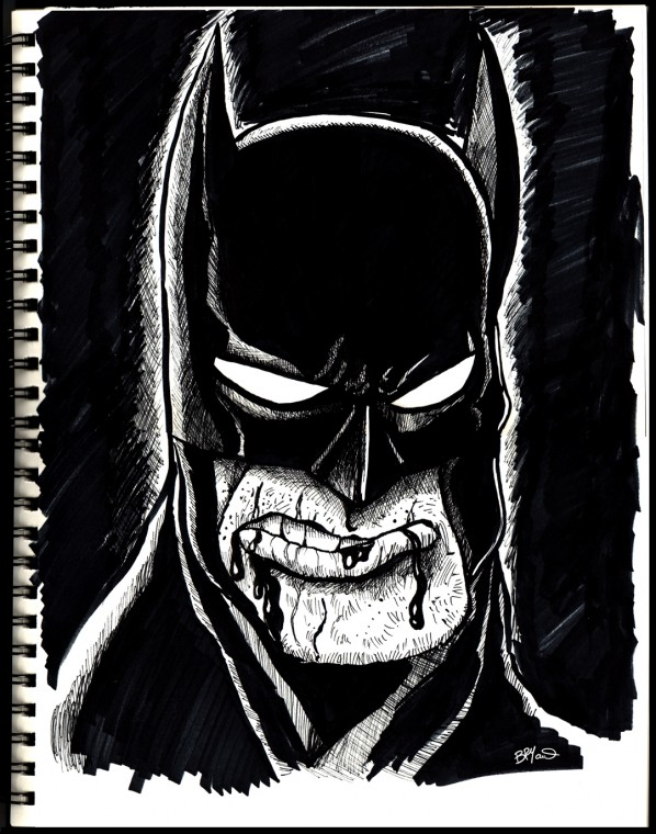 Dark-knight-sketch