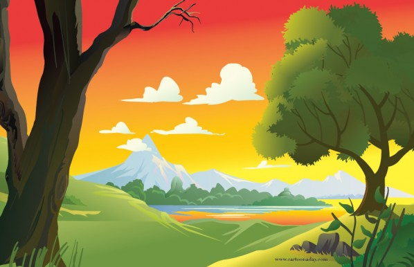 sunsewt-forest-scene-cartoon-01