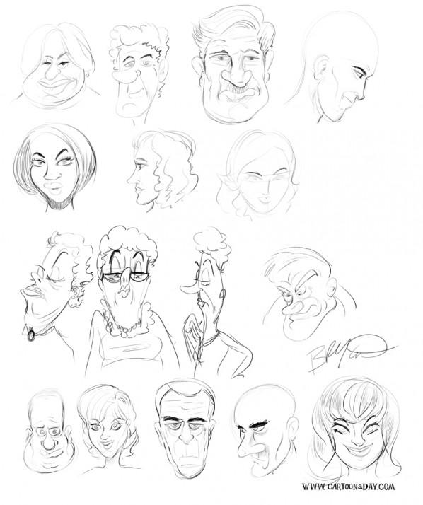 random-faces
