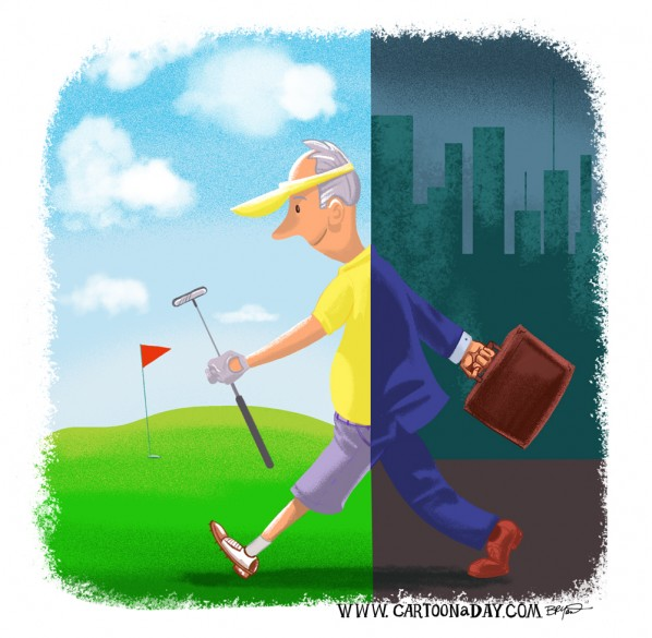 Retirement-golfer-cartoon