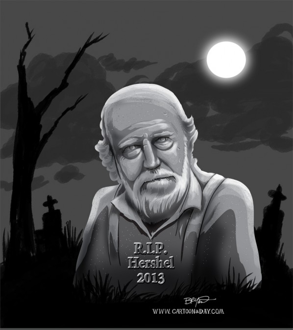 hershel-greene-walking-dead-gravestone