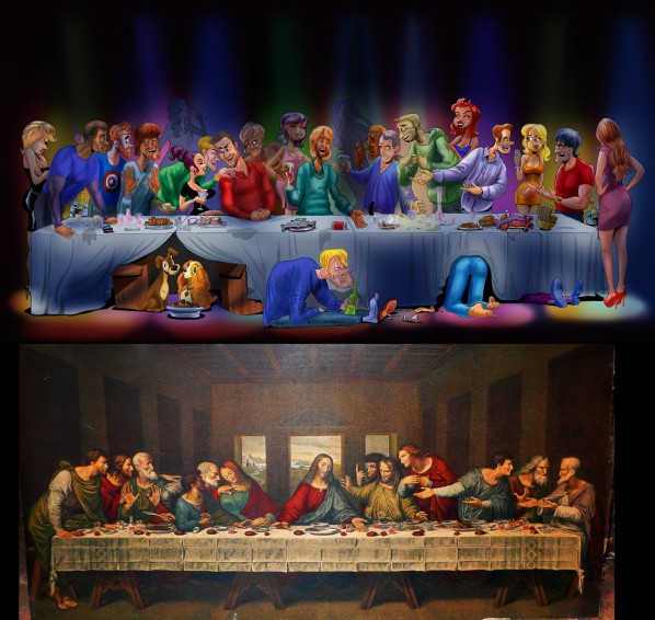 last-supper-cartoon-davinci