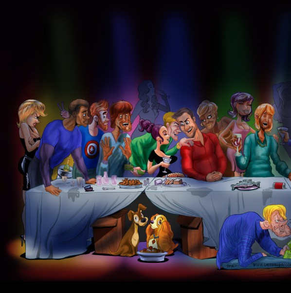 last-supper-cartoon-left