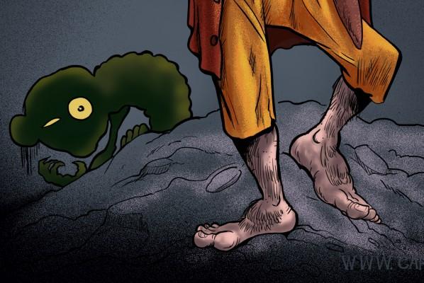 Martin Freeman as Bilbo Baggins Caricature