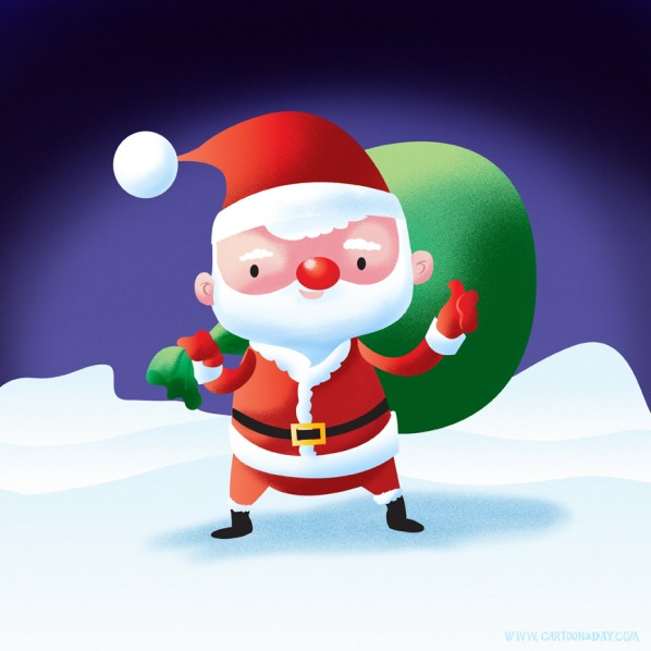 seasonal-christmas-santa-CAD
