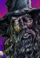 Lord of the Rings Gandalf Zombie Caricature