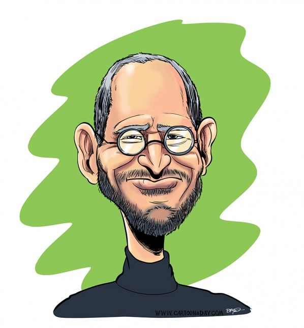 Caricature-steve-jobs
