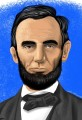 Color Portrait of President Abraham Lincoln
