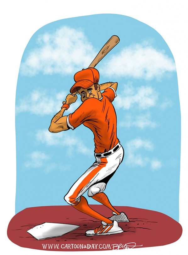 Baseball Batter Color