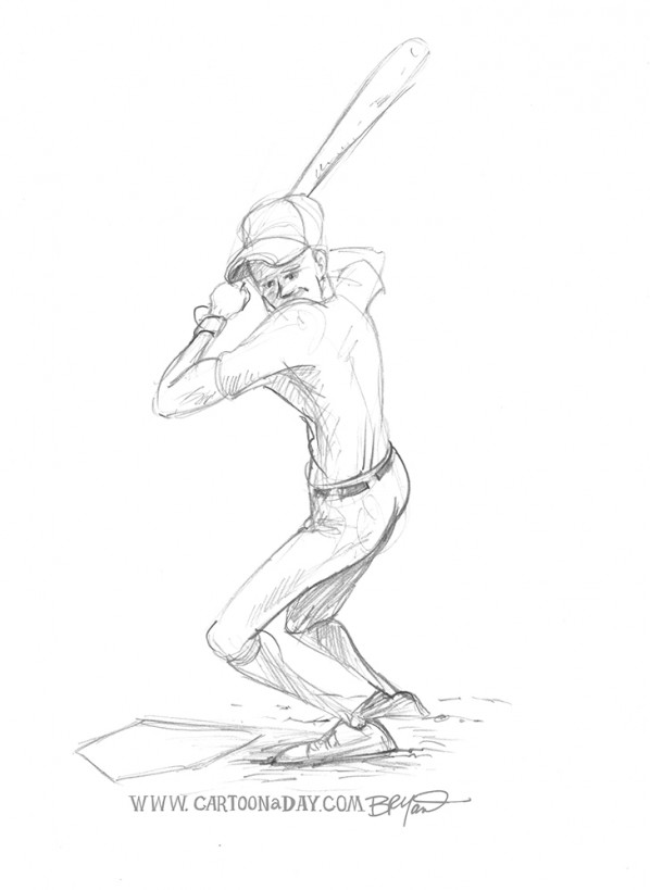 Baseball-player-batter-sketch