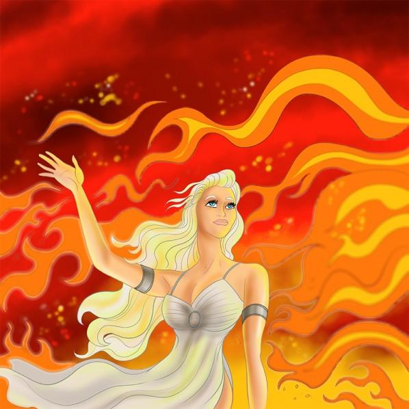 Daenerys Targaryen Disney Style Caricature