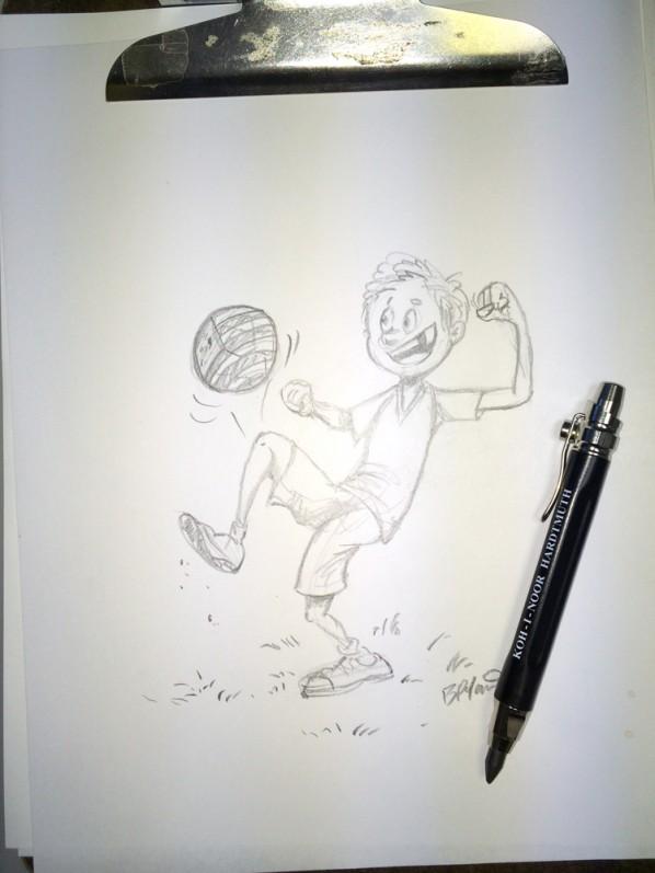soccerkid-sketch