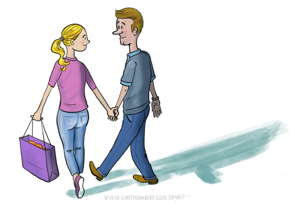 Walking-couple-cartoon