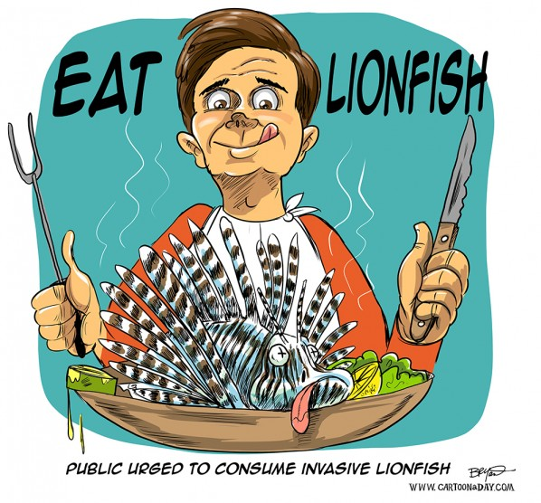 eat-lionfish-cartoon