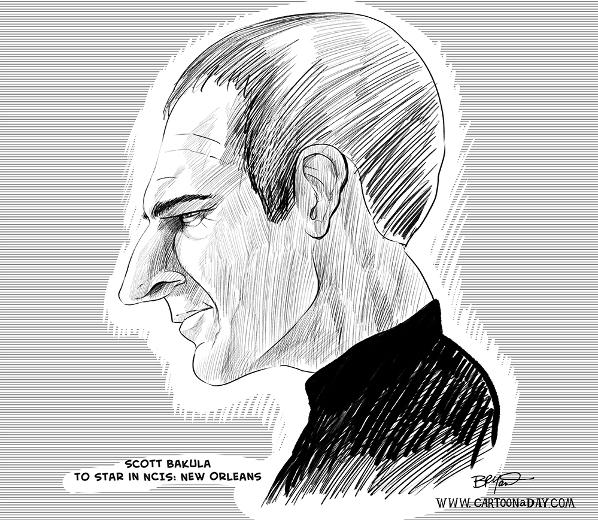 scott-bakula-caricature-cartoon-598x520