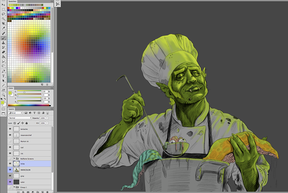 Monster-Chef-Painting-Cartoon_06