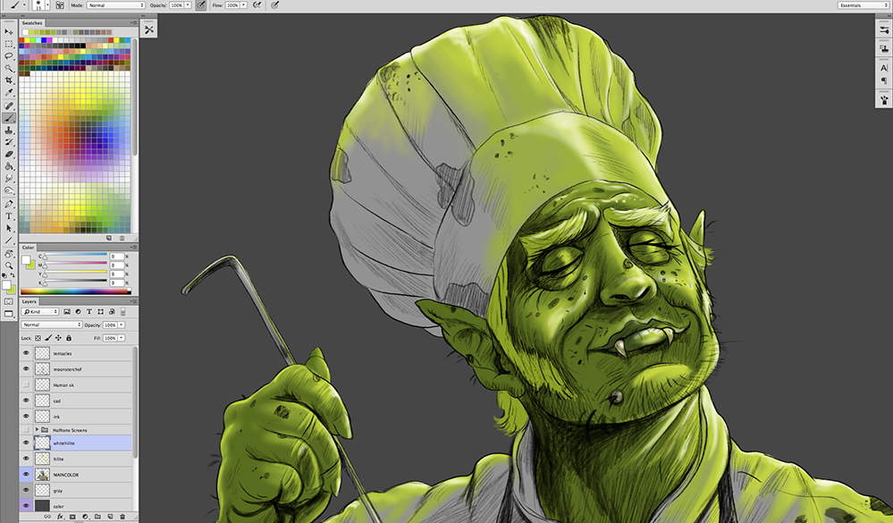 Monster-Chef-Painting-Cartoon_06b