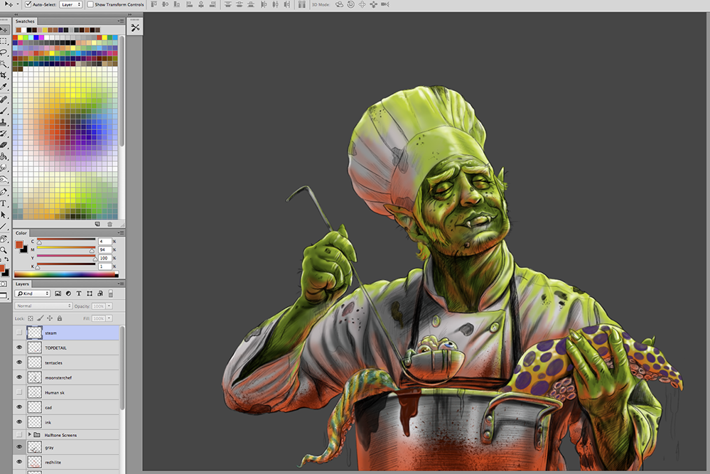 Monster-Chef-Painting-Cartoon_08