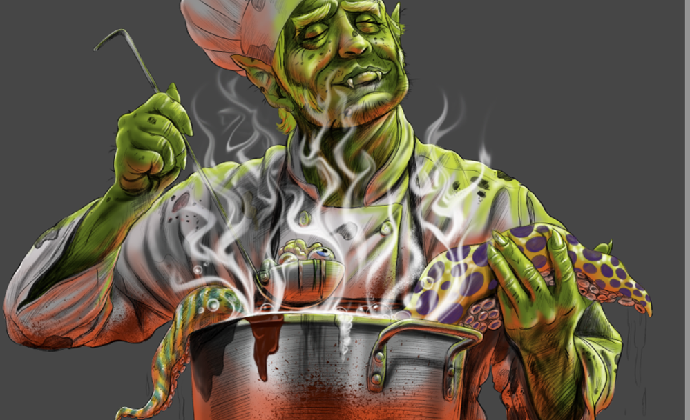 Monster-Chef-Painting-Cartoon_10