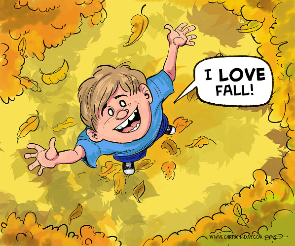 Fall Cartoon Pictures Images and Stock Photos  iStock